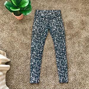 Small fabletics splatter paint mid-rise leggings